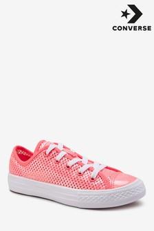 Converse Metallic Junior Chuck All Star Trainer