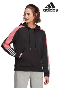 adidas Linear Colourblock Pullover Hoody
