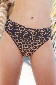 59850aae44595 Midi High Leg Bikini Briefs