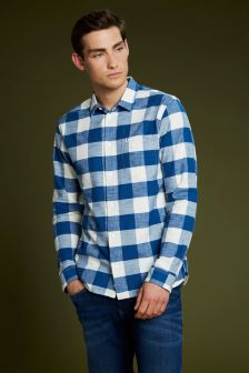 Tommy Jeans Blue Oxford Shirt