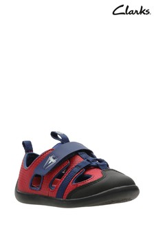 Clarks Red Play Spider T Sandal