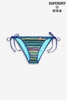 Superdry Multicoloured Crochet Bikini Brief