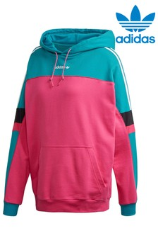 Ohlapen fantovski pulover s kapuco adidas Originals Tech