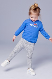 You Can Printed Sweater And Joggers Set (3mths-7yrs)