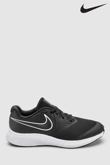 Nike Run Black/White Star Runner Youth Trainers