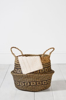 Woven Belly Basket