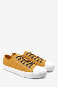 Nylon Low Lace-Up Trainers