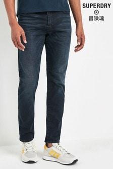 Superdry Dark Blue Slim Jeans
