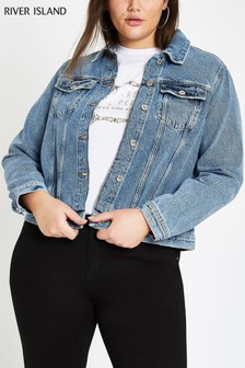 River Island Light Blue Denim Jacket