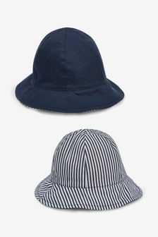 b0b331e2b49 Fisherman Hat Two Pack (0mths-2yrs)