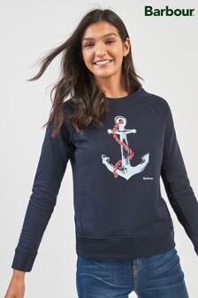 Barbour® Navy Sidmouth Sweater