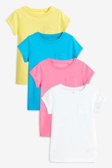 T-Shirts Four Pack (3-16yrs)