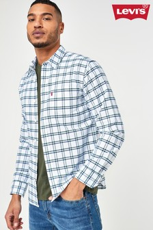 Levi's® Green Gingham Checked Shirt