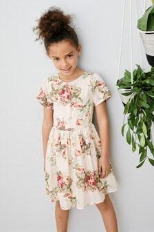 Floral Prom Dress (3-16yrs)