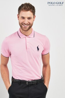 Polo Golf by Ralph Lauren Polo-Shirt mit Zierstreifen