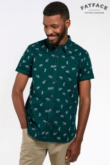 FatFace Pine Tiger Print Shirt