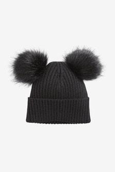 قبعة بيني اثنين بوم (الأطفال الكبار)