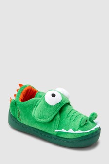 3D Crocodile Slippers (Younger)