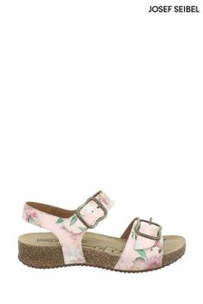 Josef Seibel Pink Tonga Triple Strap Sandals