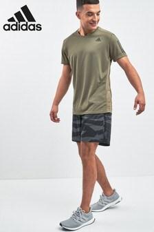 adidas Run Grey Camo Short