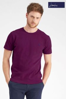 Joules Purple Short Sleeve Crew Neck Tee