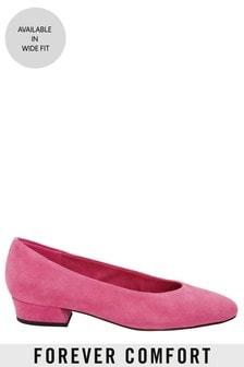 Forever Comfort Low Block Heels