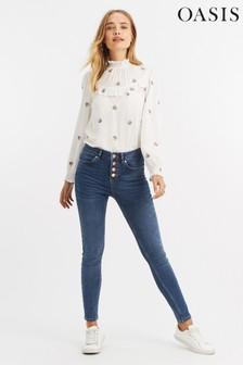 ג'ינס של Oasis, בצבע כחול, מדגם Lily