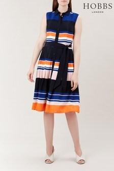 Hobbs Orange Ethel Dress