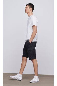 Cotton Cargo Shorts