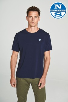 North Sails Navy Short Sleeve Logo T-Shirt
