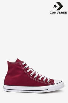 Converse Burgundy Chuck High Trainer