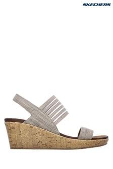 Skechers® Silver Beverlee Smitten Kitten Shoe