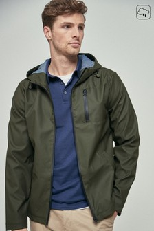 Shower Resistant Rubber Anorak