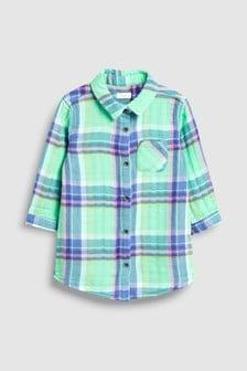 Check Long Shirt (3mths-7yrs)