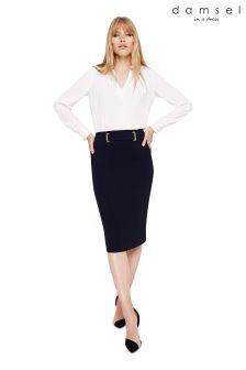 Damsel In A Dress Black Amelia City Suit Skirt