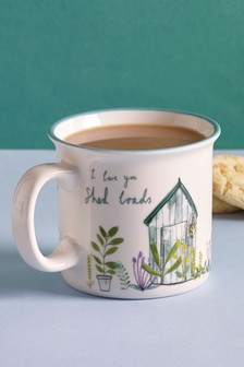 Father's Day Shed Mug