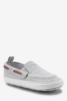 Pram Slip-On Boat Shoes (0-24mths)