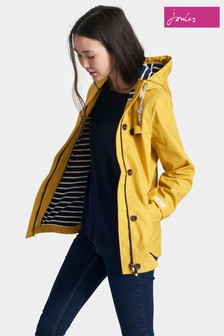 Joules Gold Waterproof Hooded Coast Jacket