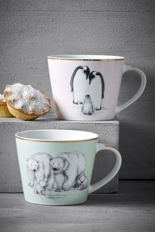 Set of 2 Mugs