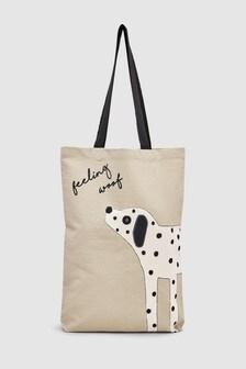 """Большая сумка с рисунком """"Далматинец"""""""