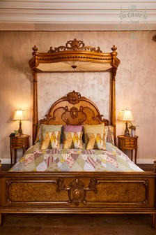 The Chateau by Angel Strawbridge Wallpaper Museum Cotton Duvet Cover and Pillowcase Set
