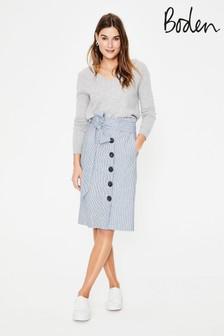 Boden Blue Leonora Skirt