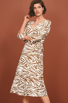 d274f9b3d2a Asymmetric Wrap Dress