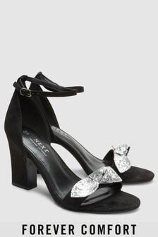 Sparkle Bow Sandals