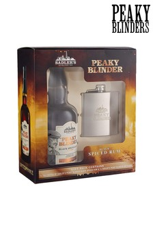 Peaky Blinders Rum And Hip Flask Gift Set