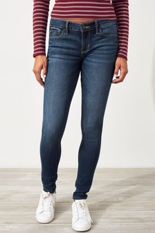 Hollister Mid Wash Skinny Jeans