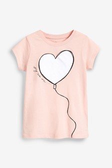 640cdeadf154 Girls T Shirts | Girls Printed & Embellished T Shirts | Next UK