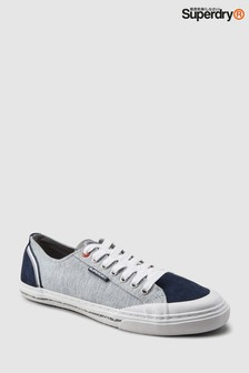 Superdry Grey Retro Low Pro Sneaker
