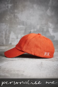 Personalised Orange Stag Cap