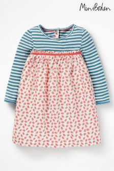 Boden Pink Pointelle Twirl Dress